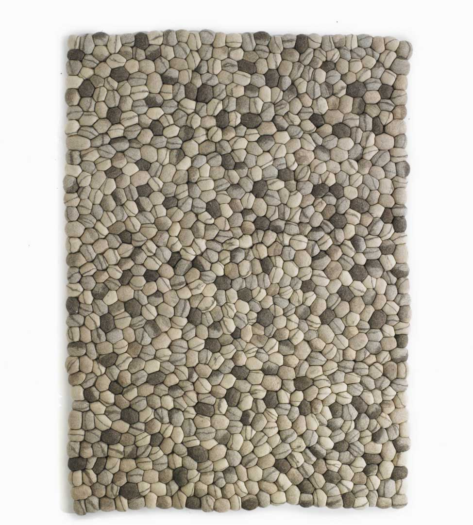 Ikea Rug Felt: Felted Stone Mat