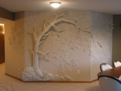 Drywall Art Cheryl World